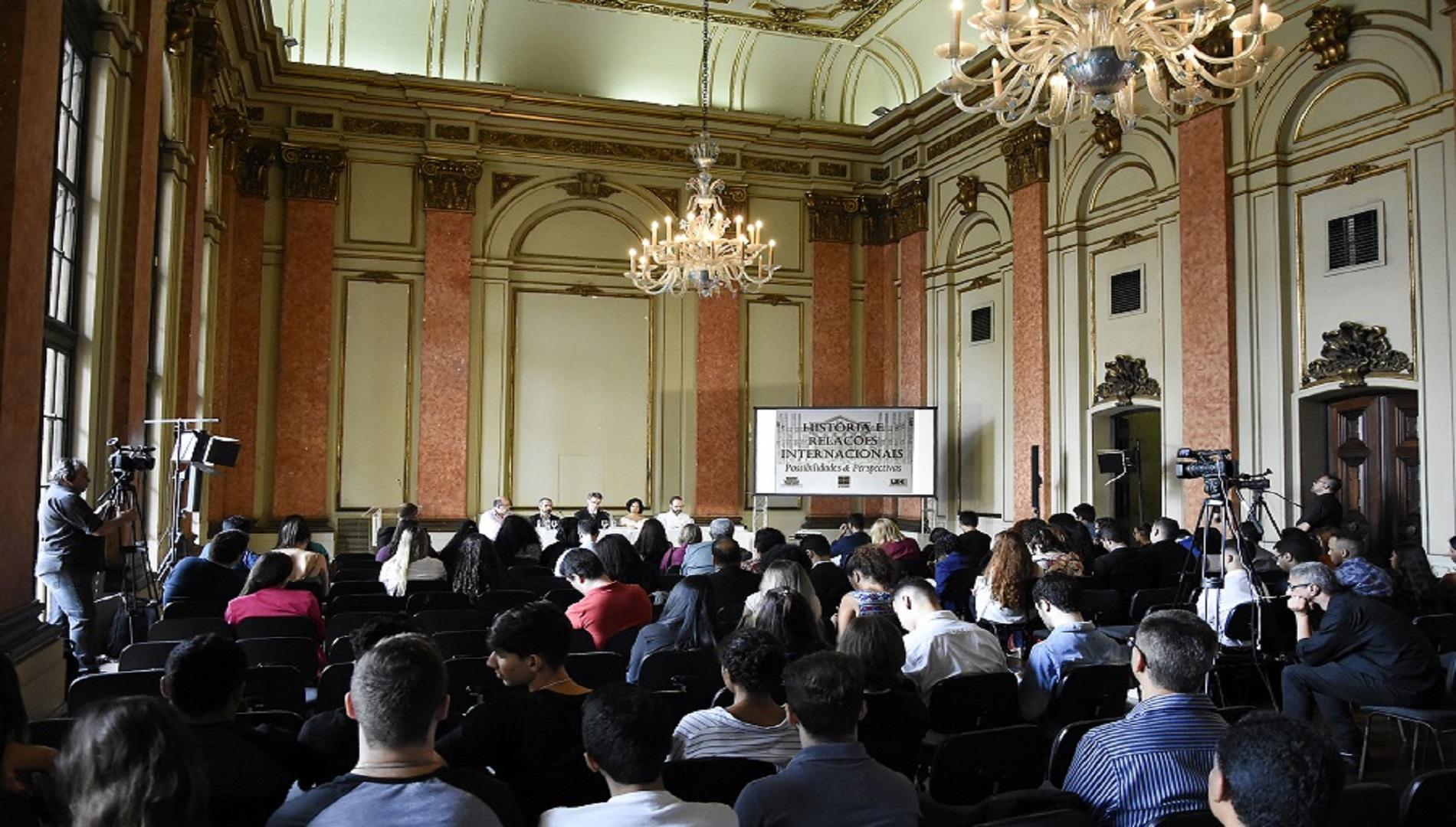 FUNAG apoia seminário sobre história e relações internacionais