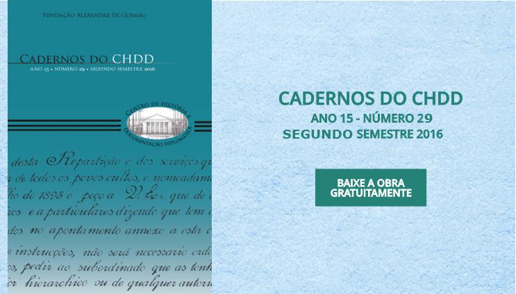 Cadernos do CHDD Nº 29