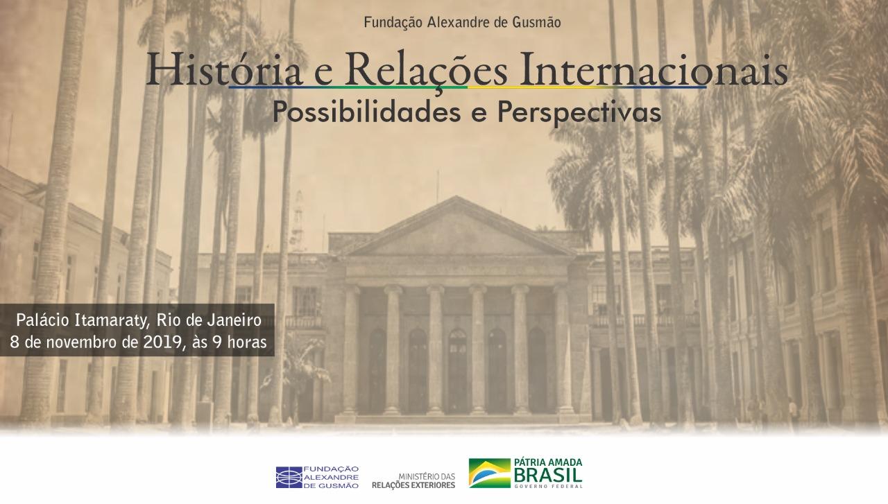 """Seminário """"História e Relações Internacionais: possibilidades e perspectivas"""""""
