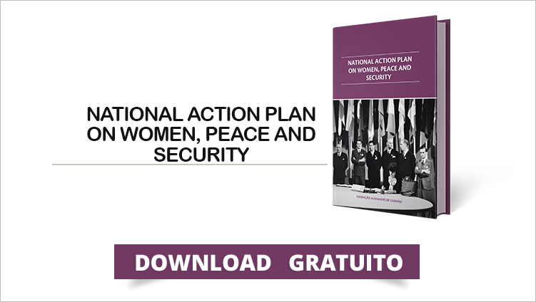 "FUNAG lança o livro ""National Action Plan on Women, Peace and Security"""