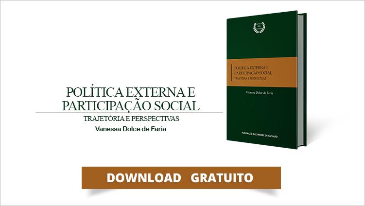 """FUNAG publica o livro """"Política Externa e Participação Social: Trajetória e Perspectivas"""""""