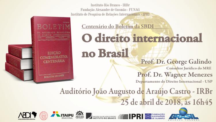 O Direito Internacional no Brasil