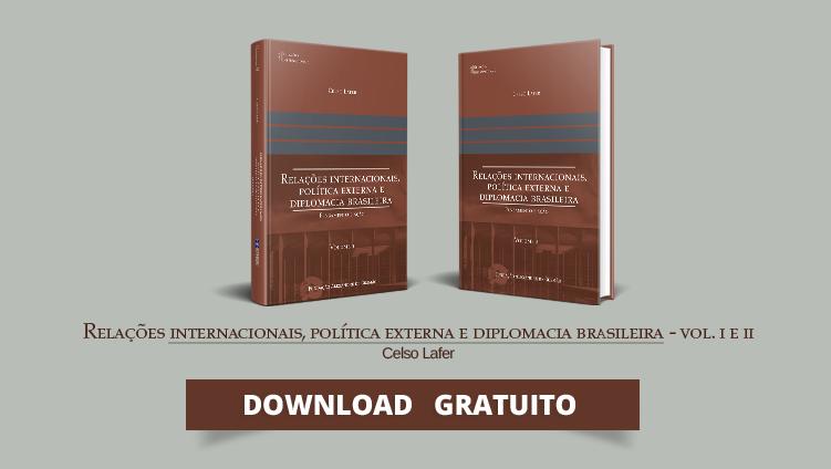 """FUNAG publica o livro """"Relações Internacionais, política externa e diplomacia brasileira"""", de Celso Lafer"""