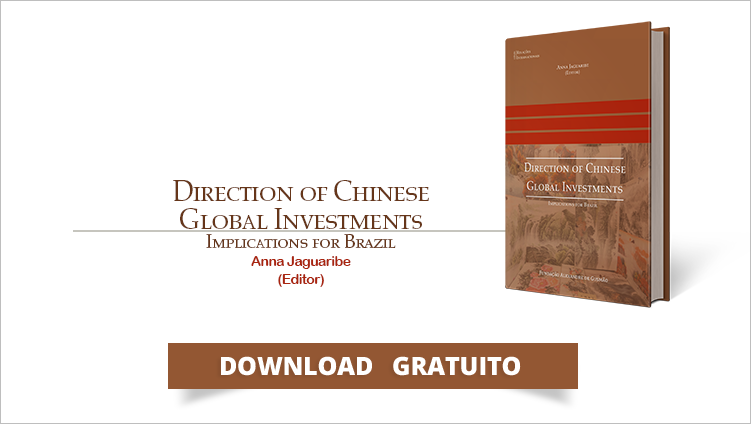 "FUNAG publica o livro ""Direction of Chinese Global Investments, Implications for Brazil"""