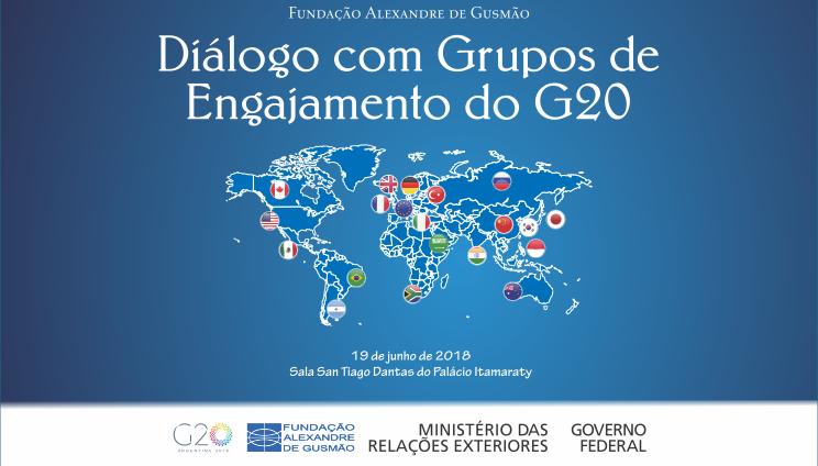 """Seminário """"Diálogo com Grupos de Engajamento do G20"""""""