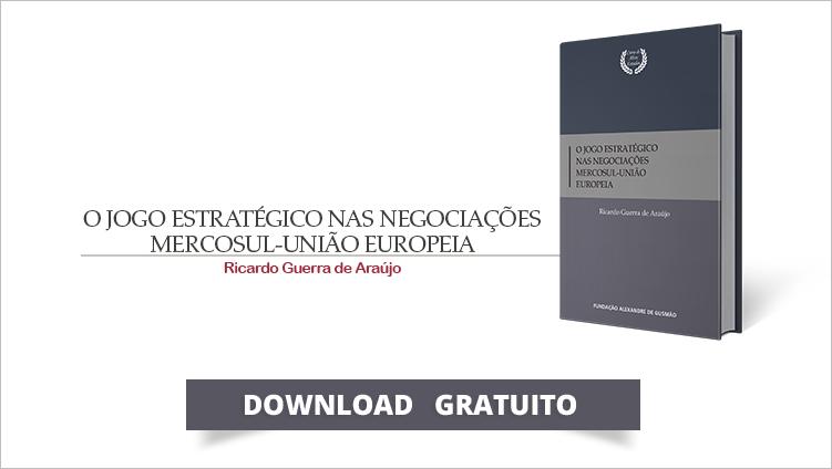 """FUNAG lança o livro """"O Jogo Estratégico nas Negociações Mercosul-União Europeia"""""""
