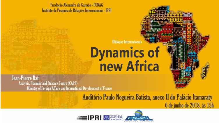 "Palestra-debate ""Dynamics of new Africa"""
