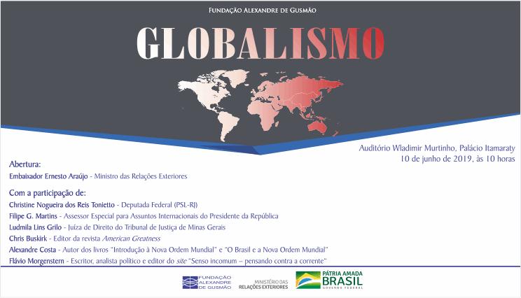 Itamaraty and FUNAG promote seminar on globalism