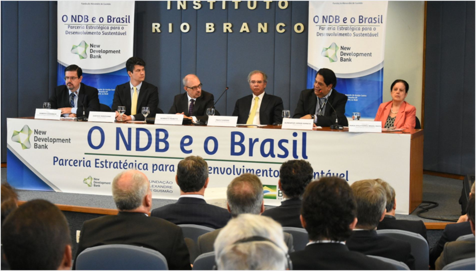 Ministry of Foreign Affairs and FUNAG conduct seminar on NDB and Brazil