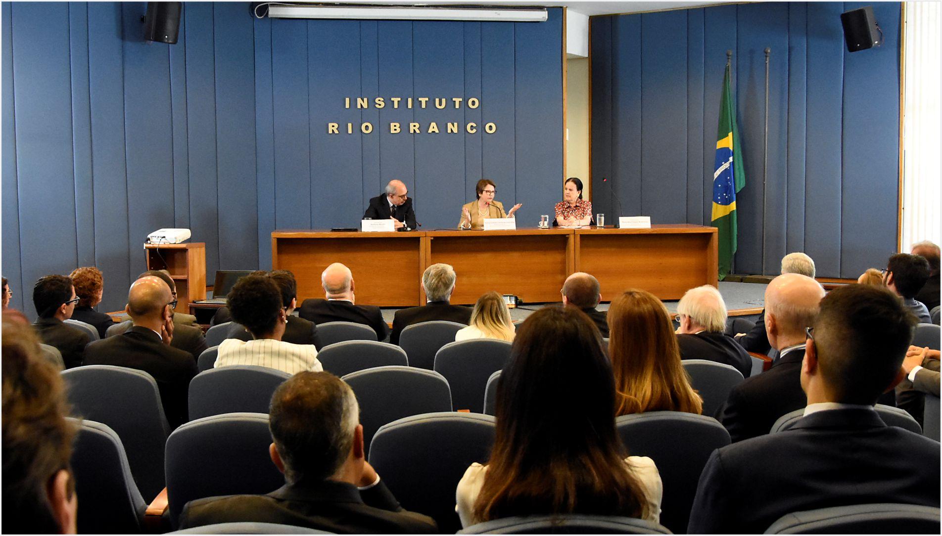 Conferência da ministra da Agricultura, Pecuária e Abastecimento, Tereza Cristina