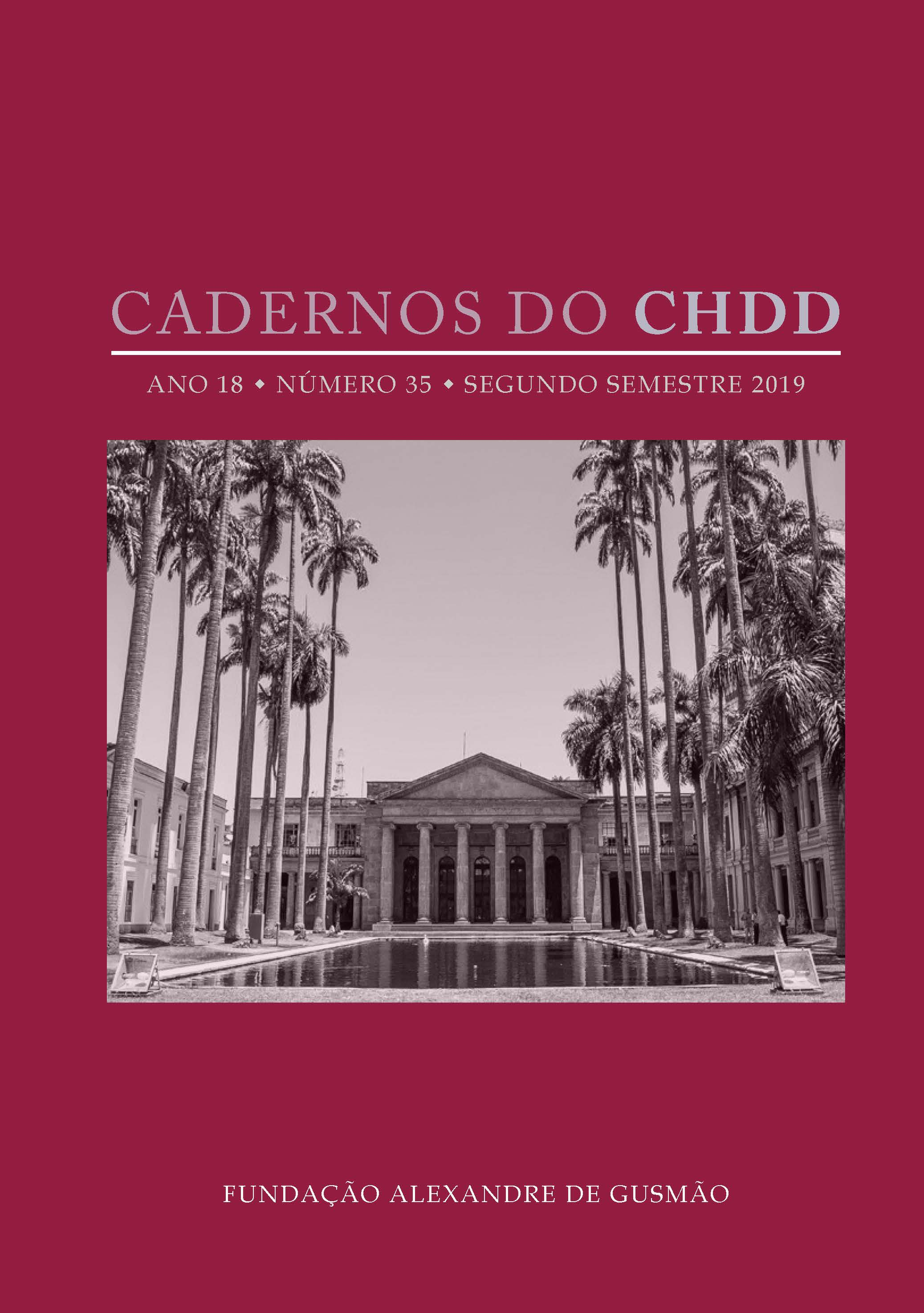 Cadernos do CHDD – ano 18 . nº 35 . segundo semestre de 2019
