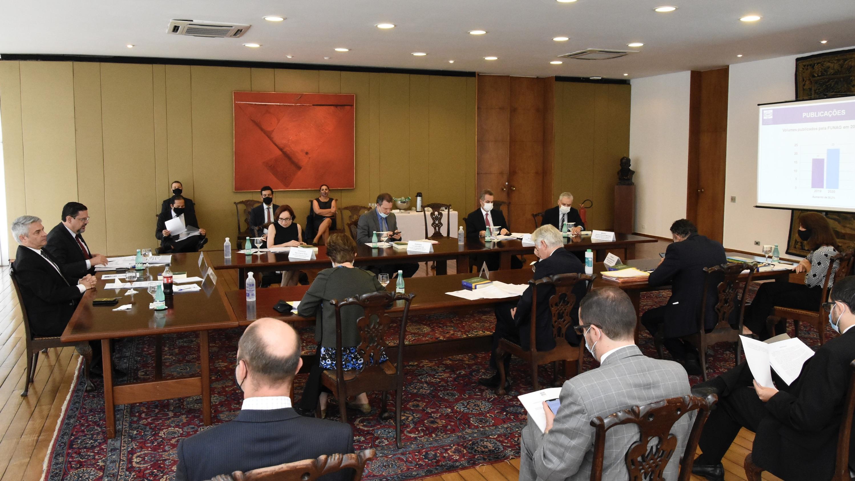 Reunião Ordinária do Conselho de Administração Superior 2020