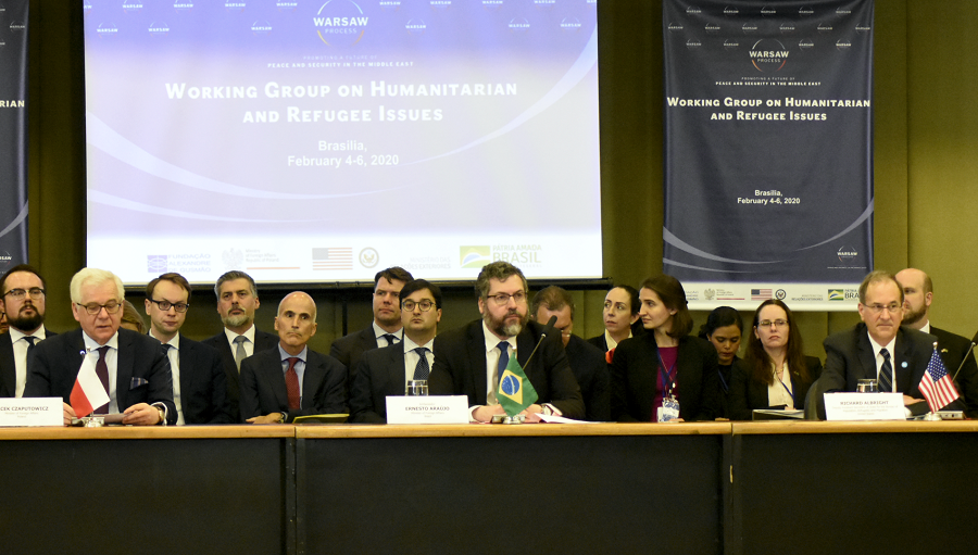 Meeting of the Warsaw Process Working Group on Humanitarian Issues and Refugees