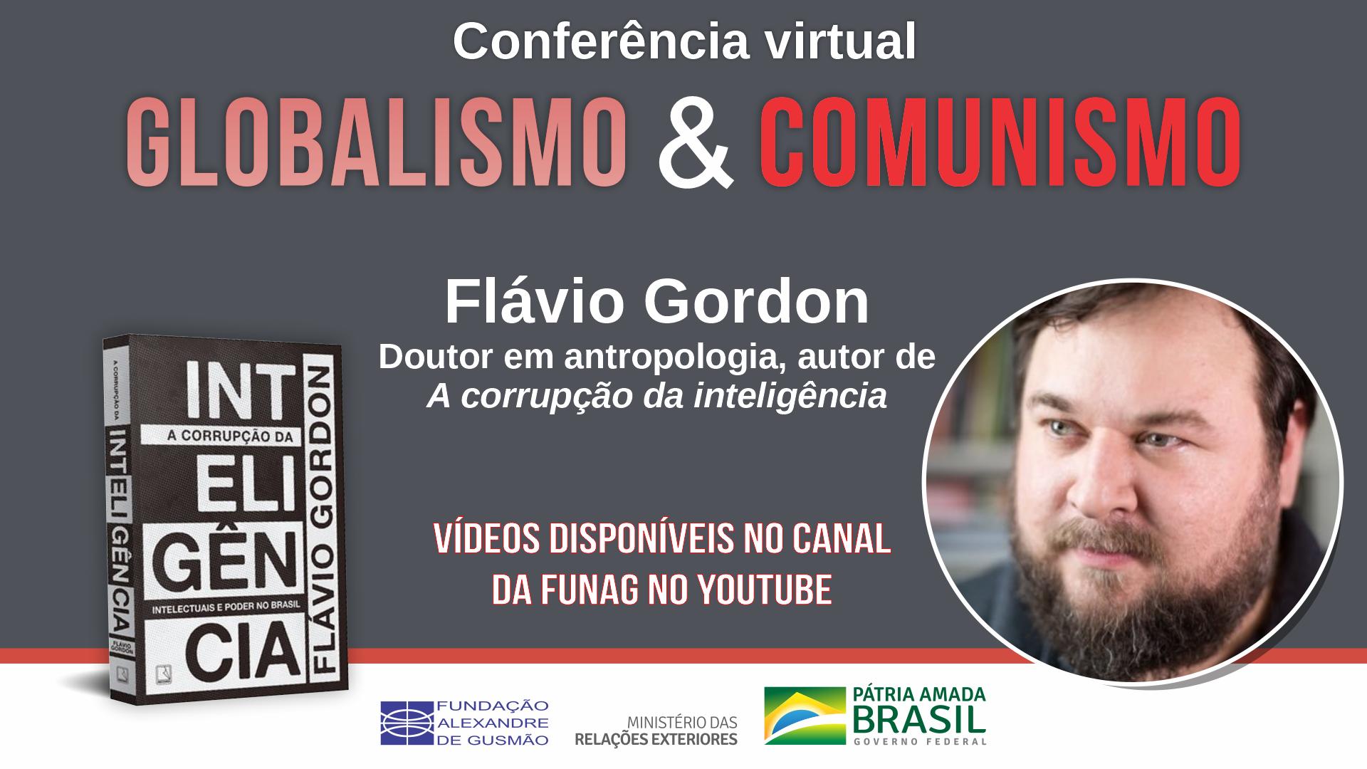 Assista aos vídeos da conferência sobre globalismo e comunismo