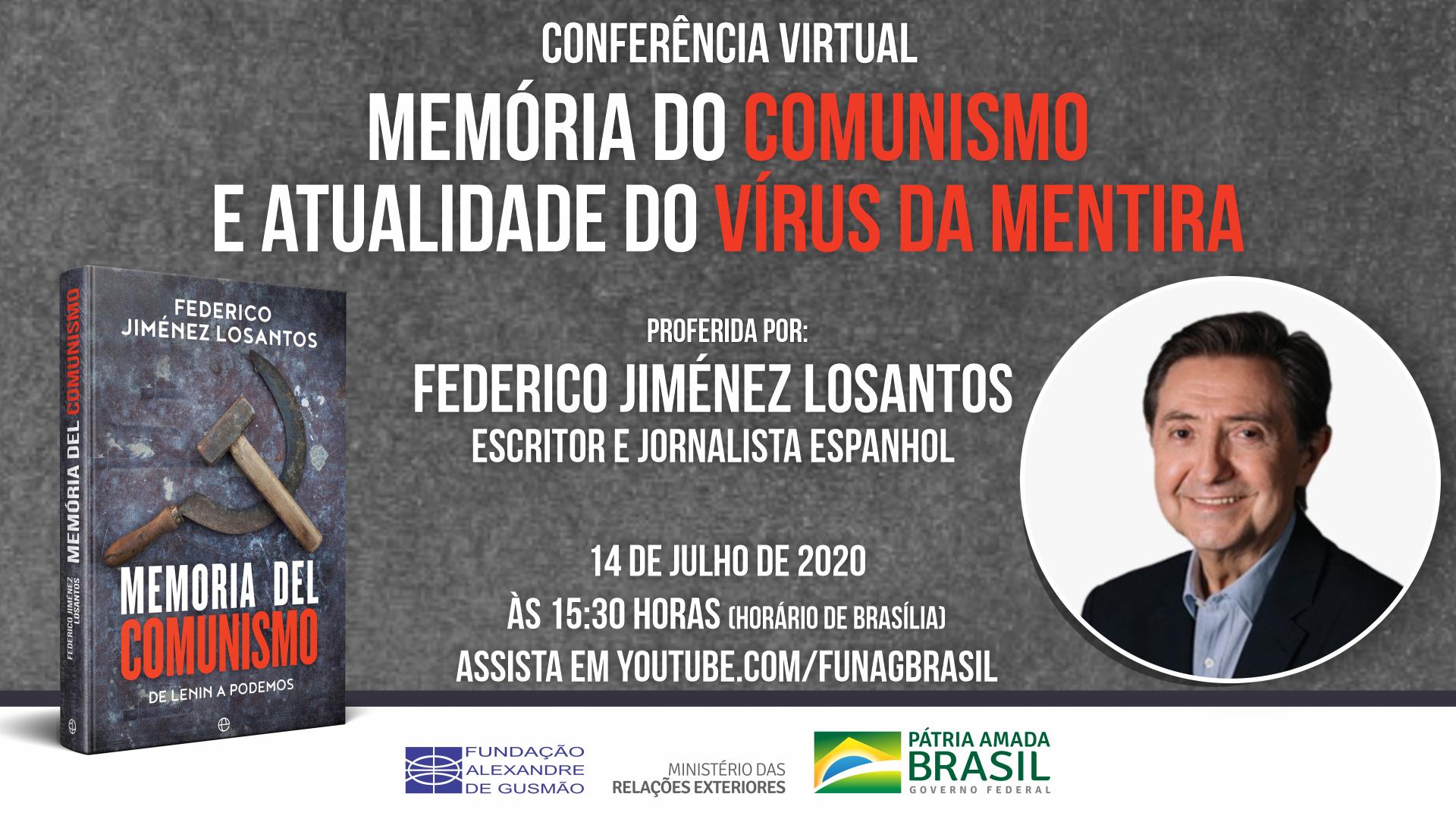 """Conferência """"Memória do comunismo e a atualidade do vírus da mentira"""""""