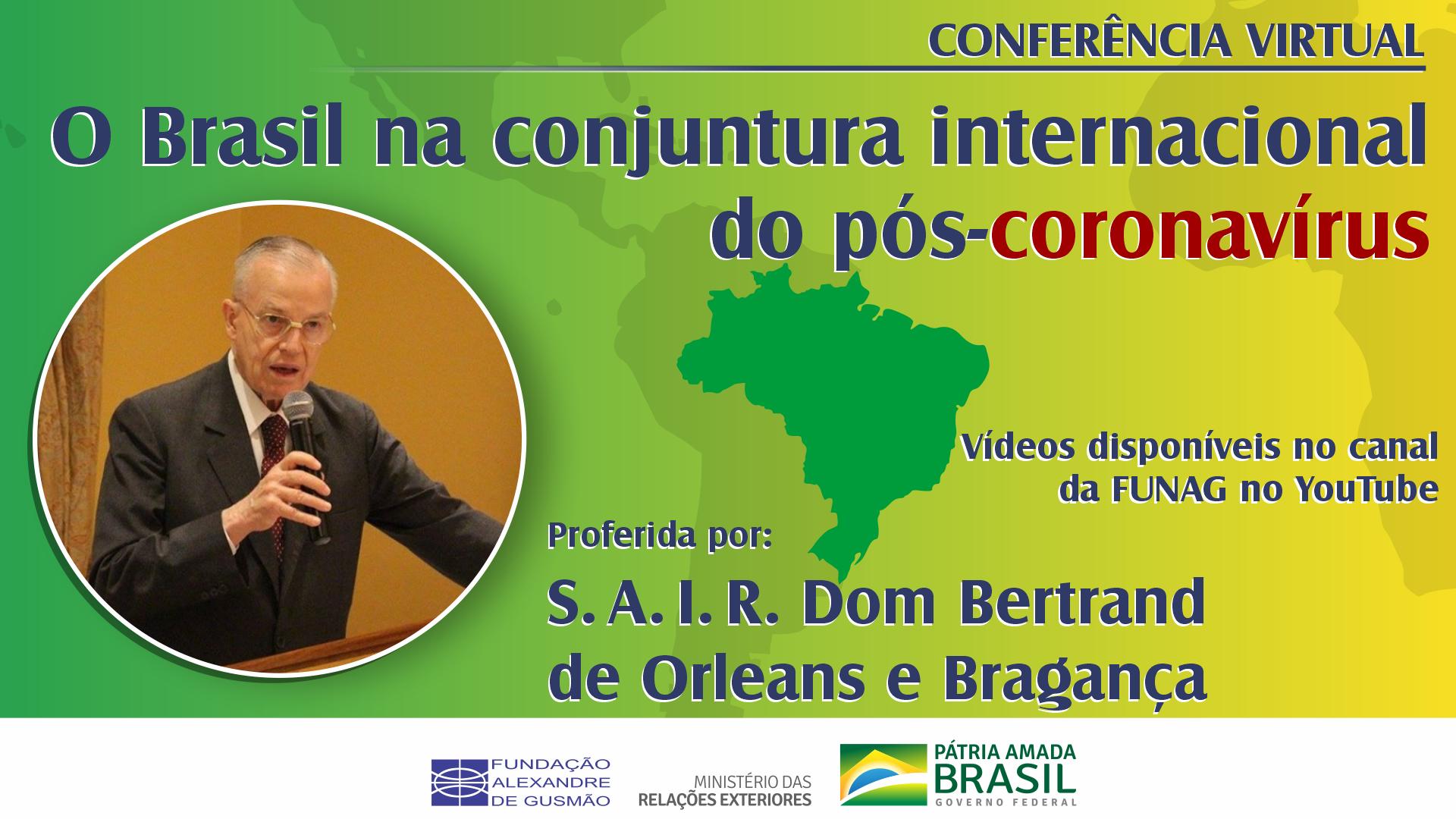 Assista aos vídeos da conferência de S. A. I. R. Dom Bertrand de Orleans e Bragança