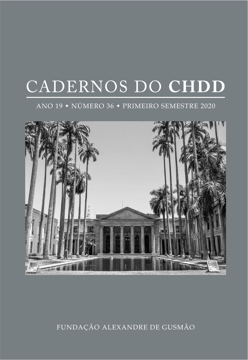 Cadernos do CHDD  ano 19 - nº 36