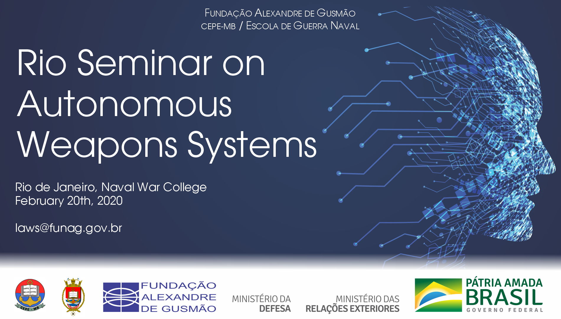Rio Seminar on Autonomous Weapons Systems