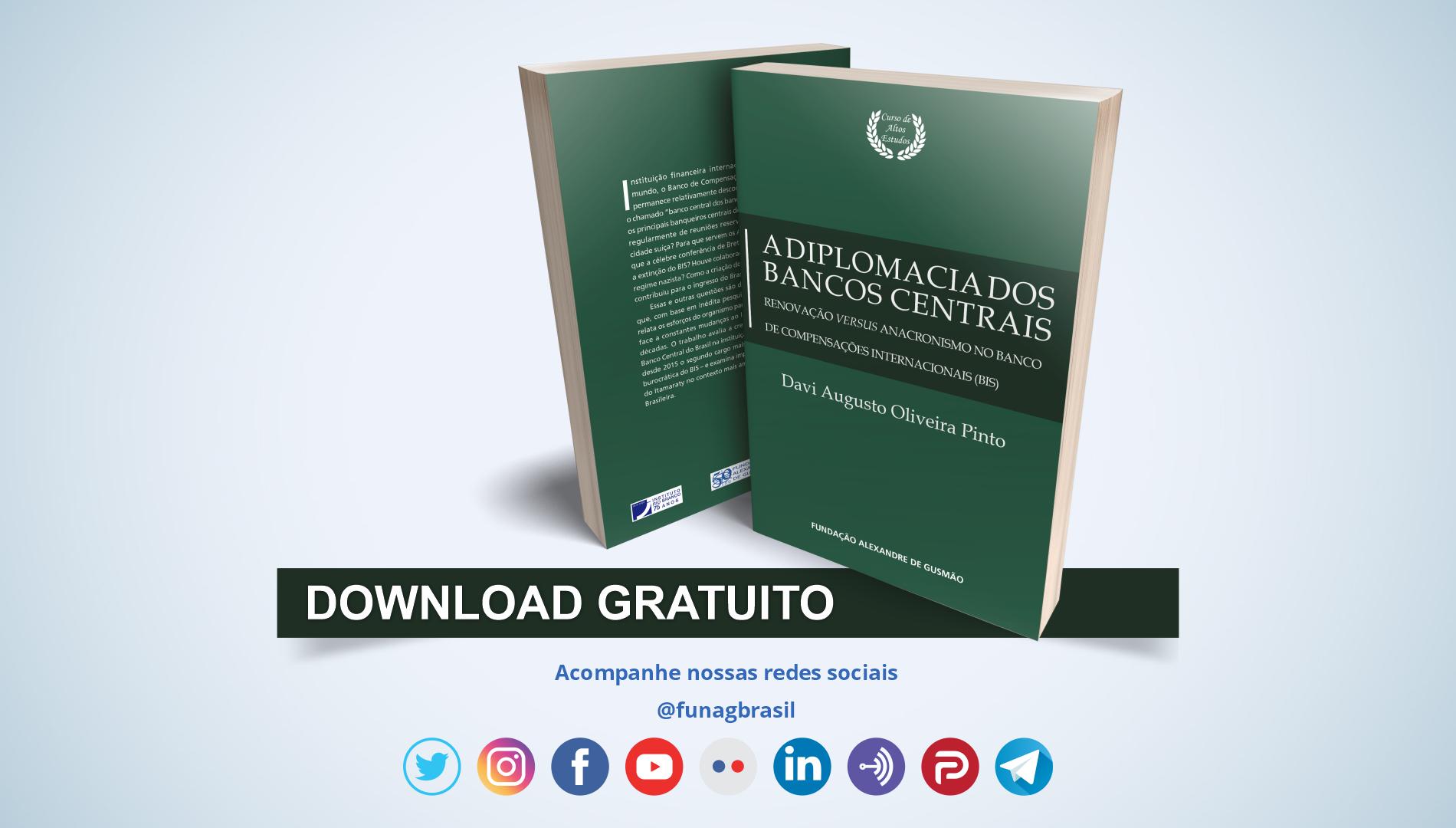 FUNAG lança livro sobre o Banco de Compensações Internacionais (BIS)