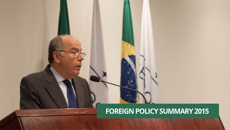 Minister Mauro Vieira sums up the year in the Brazilian foreign policy
