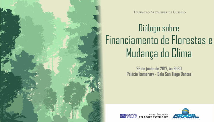 "Open registrations to the seminar ""Dialogue on the financing of forests and climate change"""