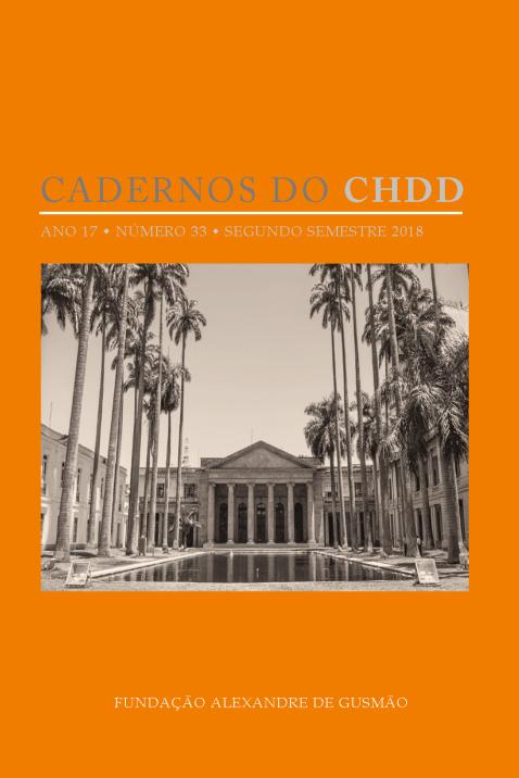 Cadernos do CHDD ano 17 • número 33 • segundo semestre 2018
