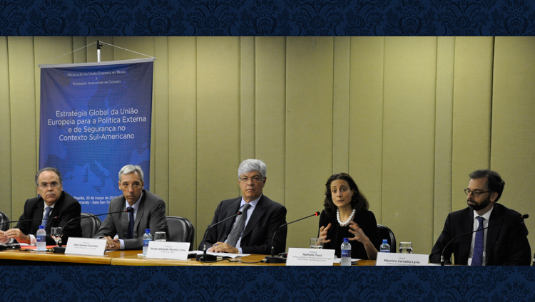European Union Delegation to Brazil and FUNAG held seminar in Brasilia