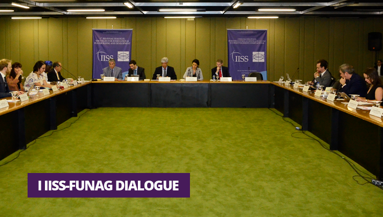 FUNAG and IISS held the first IISS-FUNAG Dialogue on Strategies for Peacebuilding and International Development