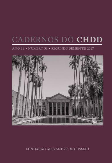 Cadernos do CHDD ano 16 • número 31 • segundo semestre 2017