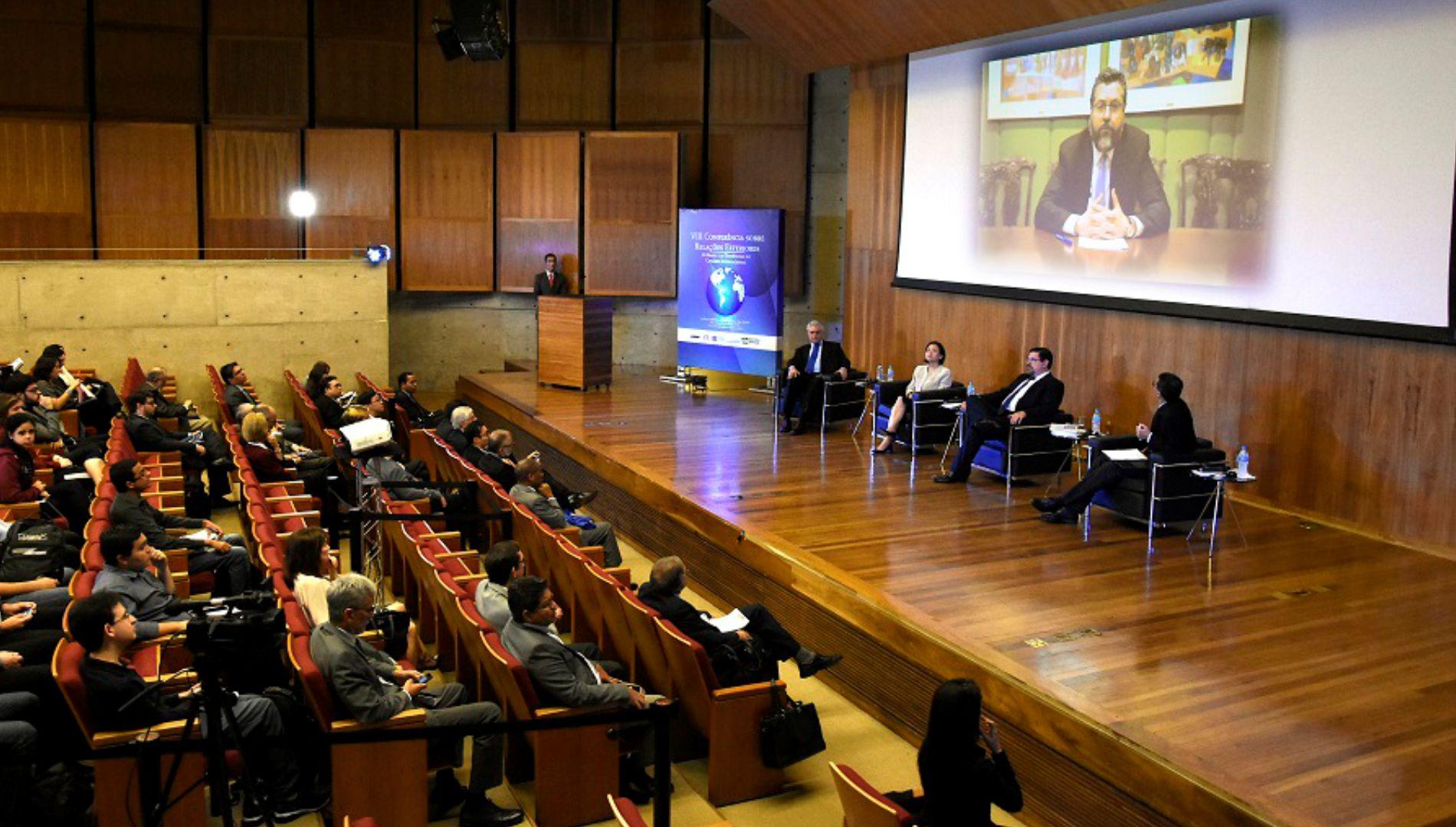 FUNAG promoveu a VIII Conferência sobre Relações Exteriores em São Paulo