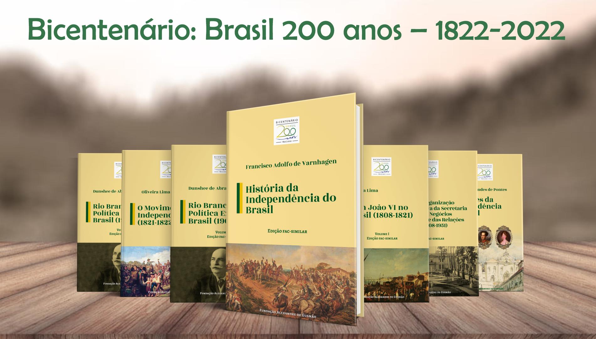"""Coleção """"Bicentenário: Brasil 200 anos – 1822-2022"""""""